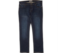 Übergröße James Jeans in Slim Passform Dunkel