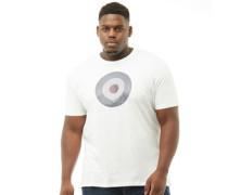 Übergröße Check Target T-Shirt
