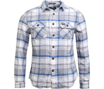 Mens Milled Flannel Long Sleeve Shirt Blackwell