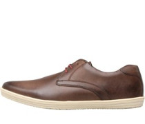 Mens Concert Lace Shoes Waxy Brown