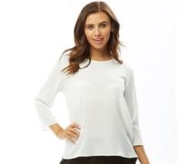 Nova Lux 3/4 Bluse mit langem Arm Ecru