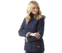 Jenna Quilted Jacke Navy