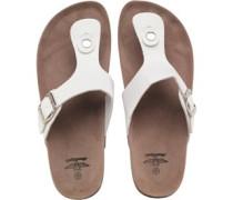 Sandalen Weiß