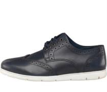 Brogue Schuhe Navy