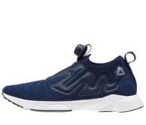 Pump Supreme Distressed Sneakers Navy