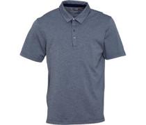 Adipure Spring Golfpolohemd Navymeliert