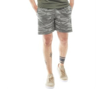 Mens Crews Jersey Shorts Grey