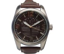 Armbanduhr Dunkelbraun