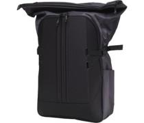 Sideline Ventilated Climacool Backpack Black/White/Dark Grey Heather