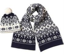 Snowflake Geschenkset Navy