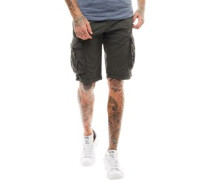 Norbury Twill Cargo Shorts Dunkel