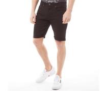 Stretch Shorts Schwarz