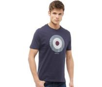 Karo Target T-Shirt Navy