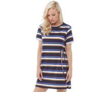 Mit Streifen Kleid Navy