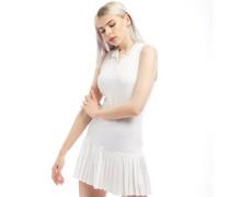 Racer Back Tennis Kleid Weiß