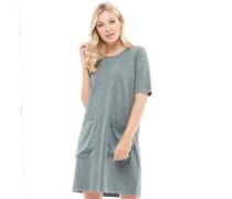 Womens Cia T-Shirt Dress Castor Grey