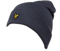 Beanie Mütze Schieferblau