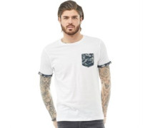 Jarvis Camo T-Shirt Weiß
