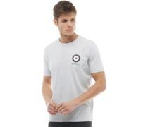 Target T-Shirt Graumeliert