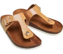 Mathilda Snake Toe Split Sandalen Mehrfarbig
