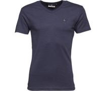 Share T-Shirt Navymeliert