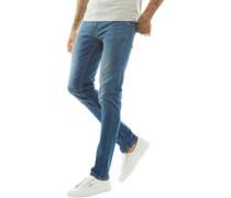 Skinny Jeans Verblasstes Blau