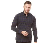 Dutton Karo Hemd mit langem Arm Dunkelgrün