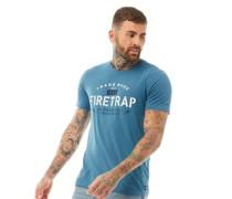 Omega T-Shirt Blaugrün