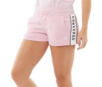 Street Sport Taped Jersey Shorts Weiß