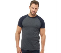 Raglan T-Shirt Navymeliert