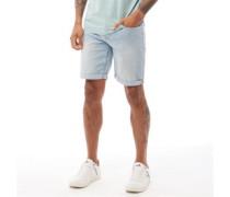 Denim Shorts Hell Denimblau