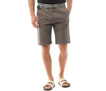 Baumwolle Shorts Grau