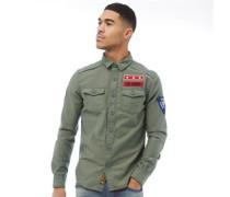 Army Corps Hemd mit langem Arm
