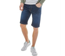 Denim Shorts Blau