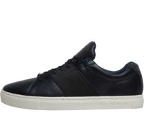 Quana Leather Sneakers Navy