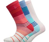 Drei Pack Socken Weiß