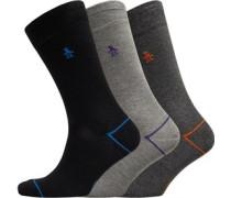 Socken Mittelgraumeliert