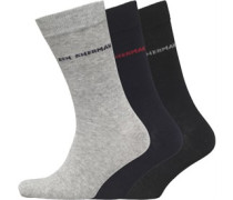 Hedgehunter Drei Pack Socken Navy