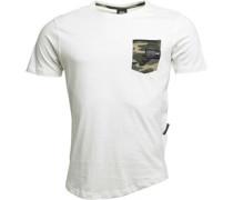 Seedly Camo T-Shirt Ecru