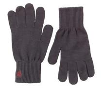 Rib Handschuhe Grau