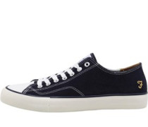 Mens Percy Canvas Pumps Navy