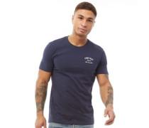 Script T-Shirt Navy