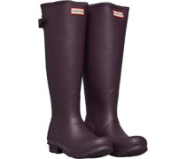 Original Back Adjustable Tall Gummistiefel Dunkel