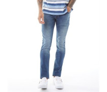 True Denim Jeans in Slim Passform Denim