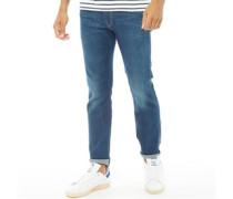 527 Slim Bootcut Jeans Mittelblau