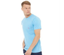 York T-Shirt Blau