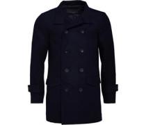 Wolle Jacke Navy