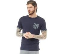 Jarvis Camo T-Shirt Navy