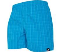 Check Badeanzug Blau