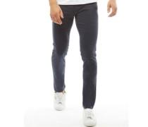 Glenn AKM 696 Jeans mit geradem Bein Navy
